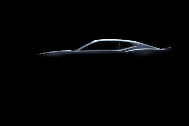 2016 Chevy Camaro Teaser