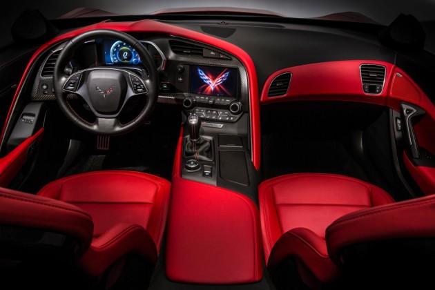 2015 Chevy Corvette Stingray interior