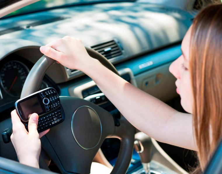 teen driving texting parental controls survey young driver