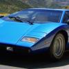 Tahiti Blue 1976 Lamborghini Countach LP400