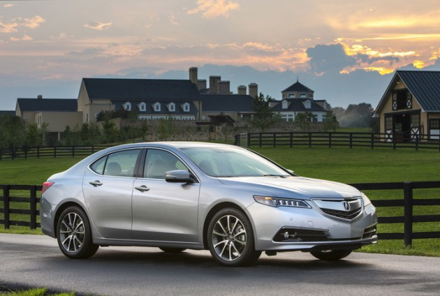 2015 Acura TLX Safety