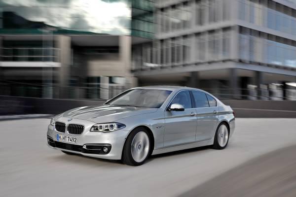 2015 BMW 5 Series Efficiency