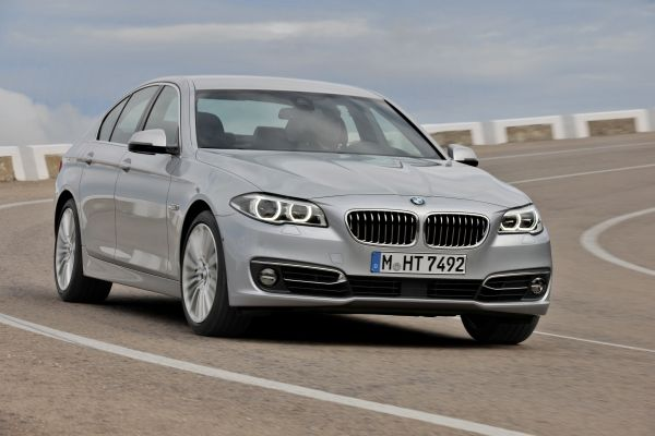 2015 BMW 5 Series Exterior