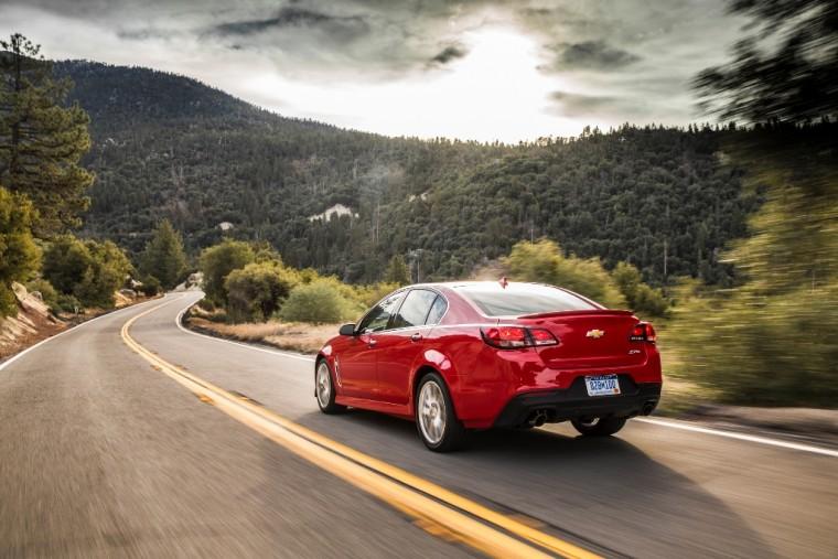 2015 Chevrolet SS efficiency