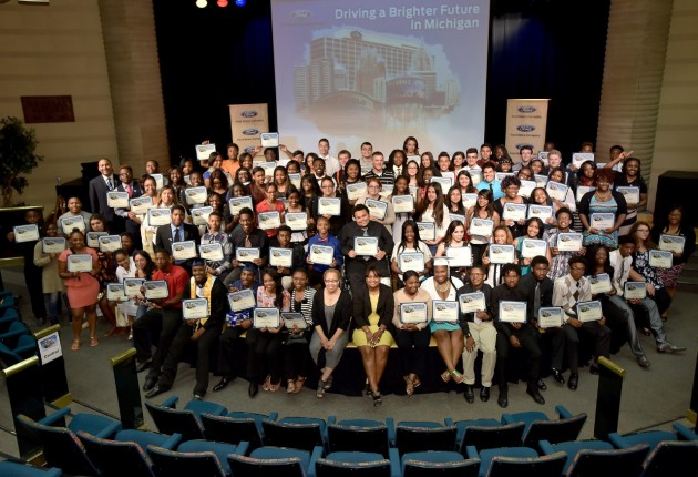 sixth annual Blue Oval Scholarship program awards