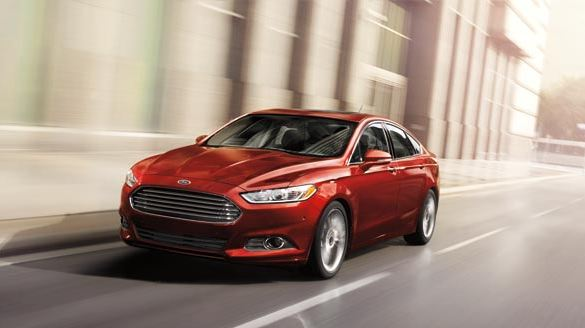 2015 Ford Fusion Bronze Fire