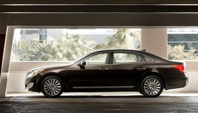 2015 Hyundai Equus overview luxury exterior