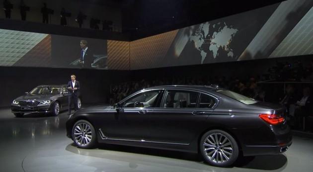 2016 BMW 7 Series Debut Design Details