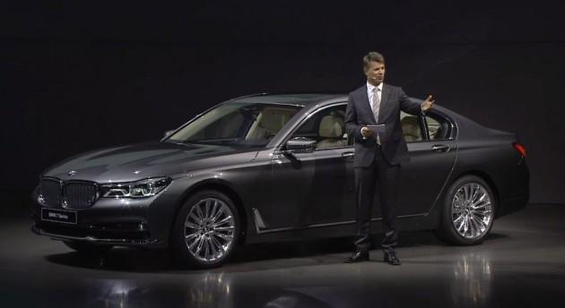 2016 BMW 7 Series Debut Design Details Harald Kruger