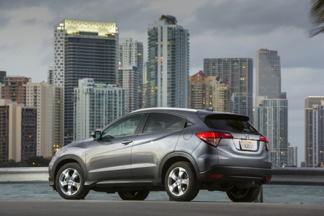 2016 Honda HR-V model overview