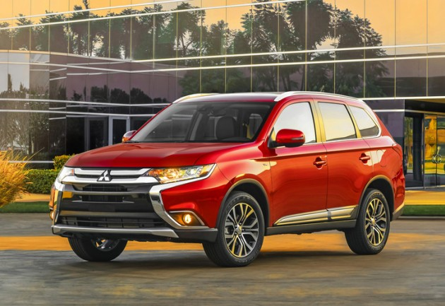 Mitsubishi is dropping the 2016 Outlander price $200 from the 2015 model