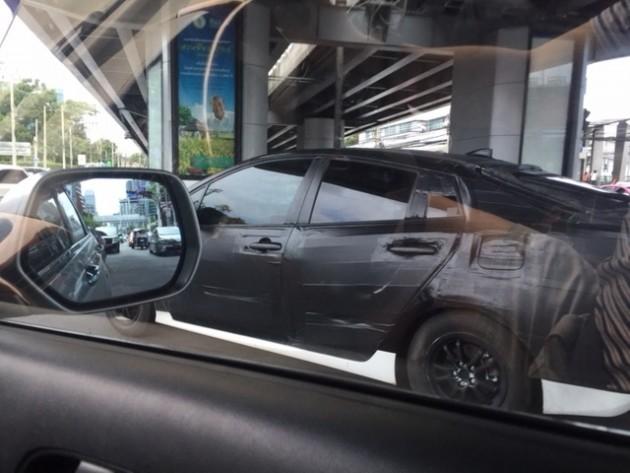 2016 Toyota Prius spy shot