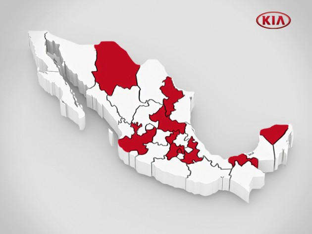 Kia heads south of the border to begin Mexican market sales next month