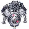 5.2-liter flat-plane crankshaft V8 Shelby GT350