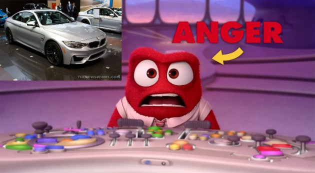 Anger Inside Out Car