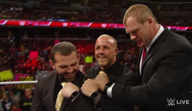 Kane Jamie Noble Joey Mercury Apple Watches