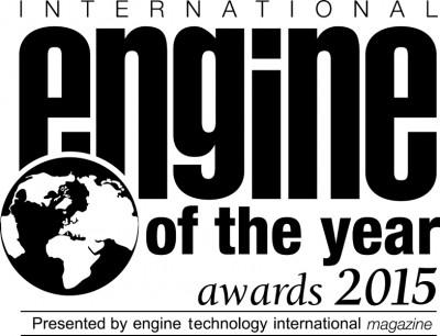 BMW i8 2015 Engine of the Year award (a)