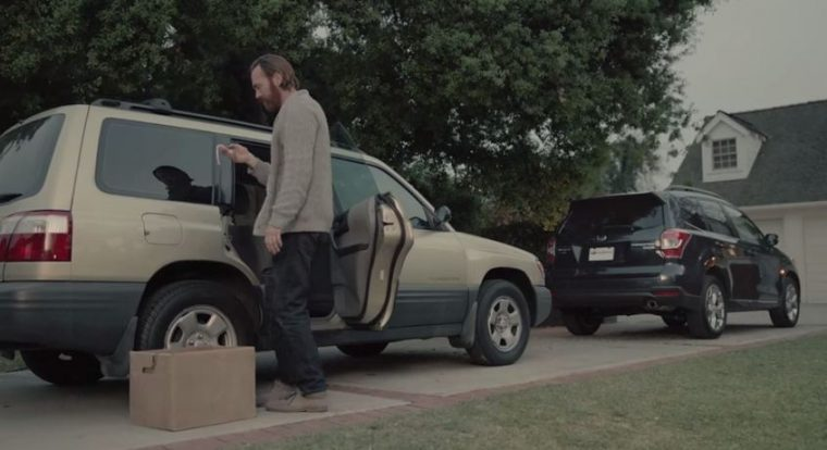 "In the new 2016 Forester commercial, ""Making Memories,"" a dad cleans out his Forester to hand off to his 16-year-old daughter"