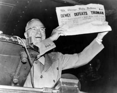 Truman burned GM even better than he burned Dewey. Photo: Dave Winer
