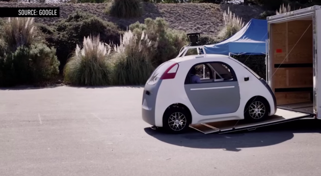 Driverless cars expected by 2020.