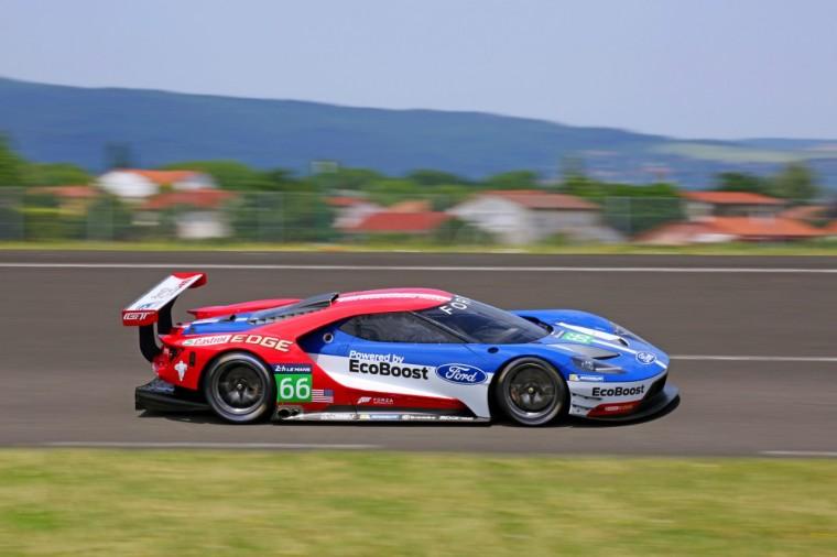 Ford GT race car IMSA TUDOR FIA WEC