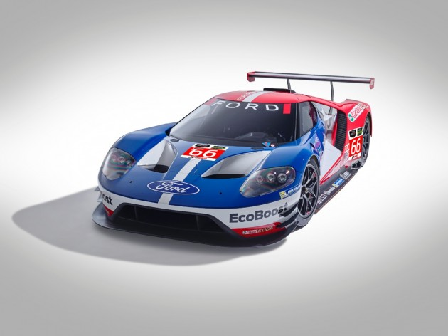 Ford GT race car IMSA TUDOR FIA WEC