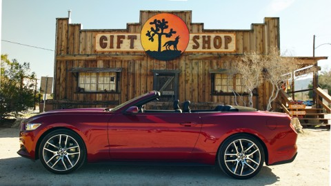 2015 Ford Mustang Convertible new