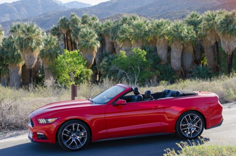 2015 Ford Mustang Convertible exterior