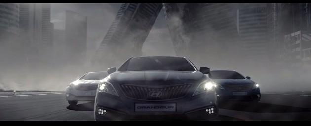 Hyundai Grandeur Ad Features DC Comics Superheroes cars diesel hybrid