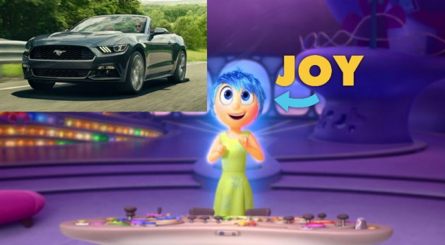 Joy Inside Out Car