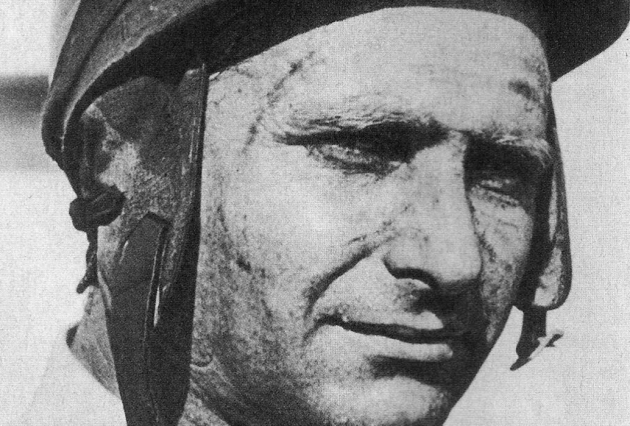 Legendary Argentinian racer and World Drivers' Champion Juan Manuel Fangio