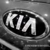 Kia logo emblem American Korean badge