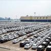 Kia vehicles await shipment