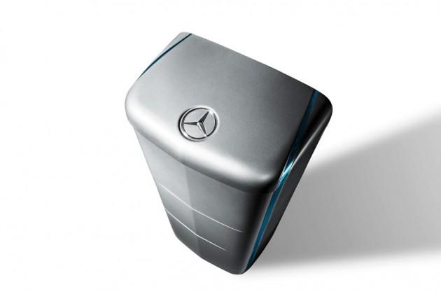 The Mercedes-Benz energy storage unit
