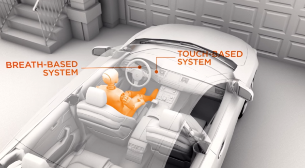 NHTSA DADSS touch/breath-based systems