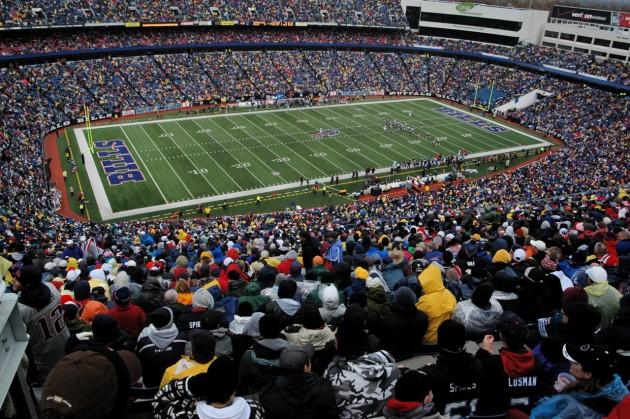 Ralph Wilson Stadium - Buffalo Gillette Stadium - New England