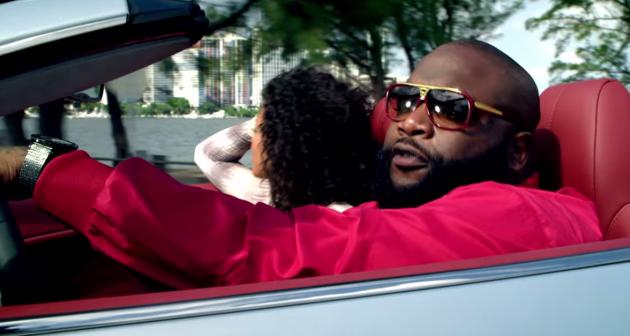 Screenshot of Ross from the Astin Martin Music video.