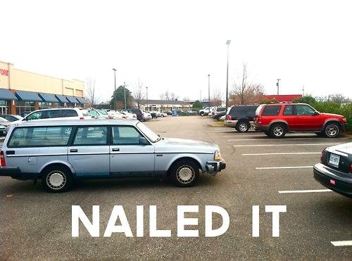 bad parking meme