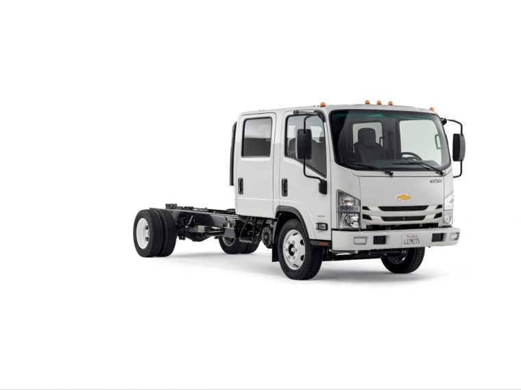 2016 Chevrolet 4500 Low Cab Forward Crew Cab