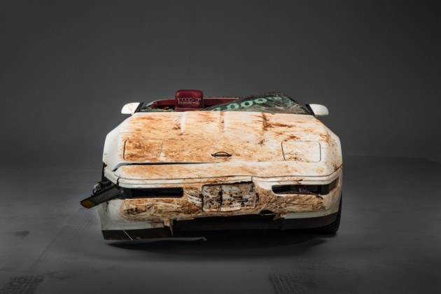 One millionth Corvette damaged in National Corvette Museum sinkhole