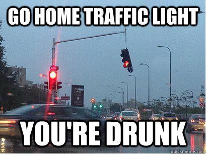 traffic light meme pun