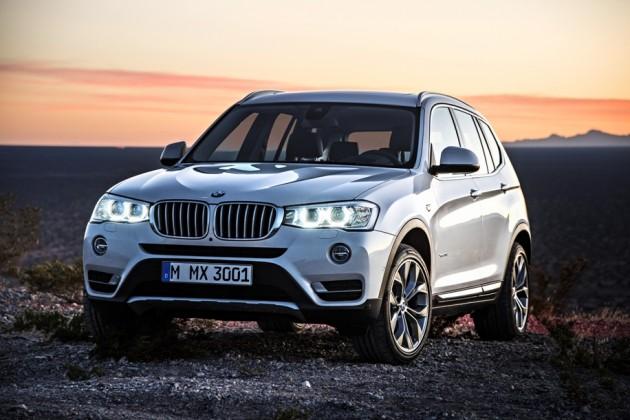 2015 BMW X3 14