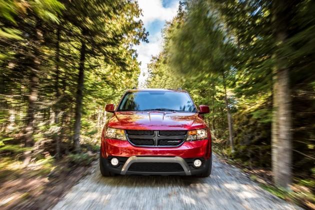 2015 Dodge Journey front fascia
