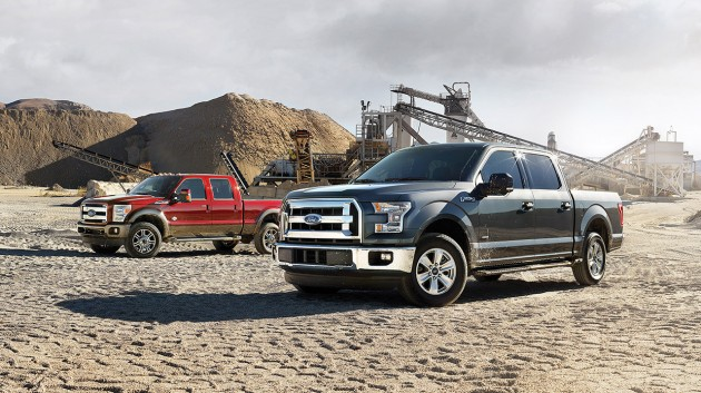 2015 Ford Super Duty and 2015 Ford F-150