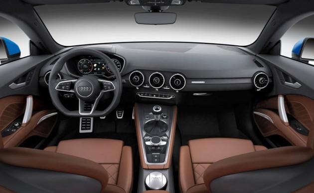 2016 Audi TT interior