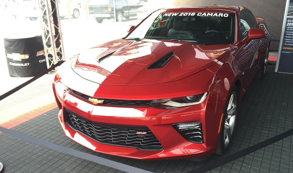 2016 Chevy Camaro Visits Indianapolis Motor Speedway for ...