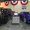 2016 Chevy Camaro and 2015 Silverado Midnight Edition at All-Star FanFest in Cincinnati