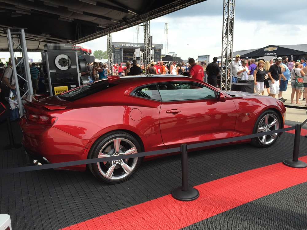 2016 Chevy Camaro Visits Indianapolis Motor Speedway for Brickyard 400 ...