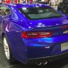 Blue 2016 Chevy Camaro rear