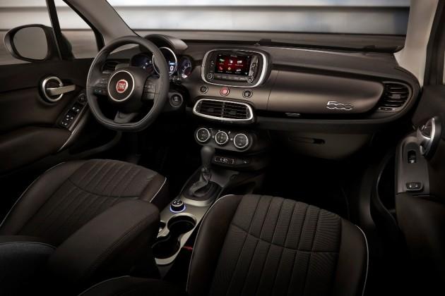 2016 Fiat 500x Dash Design